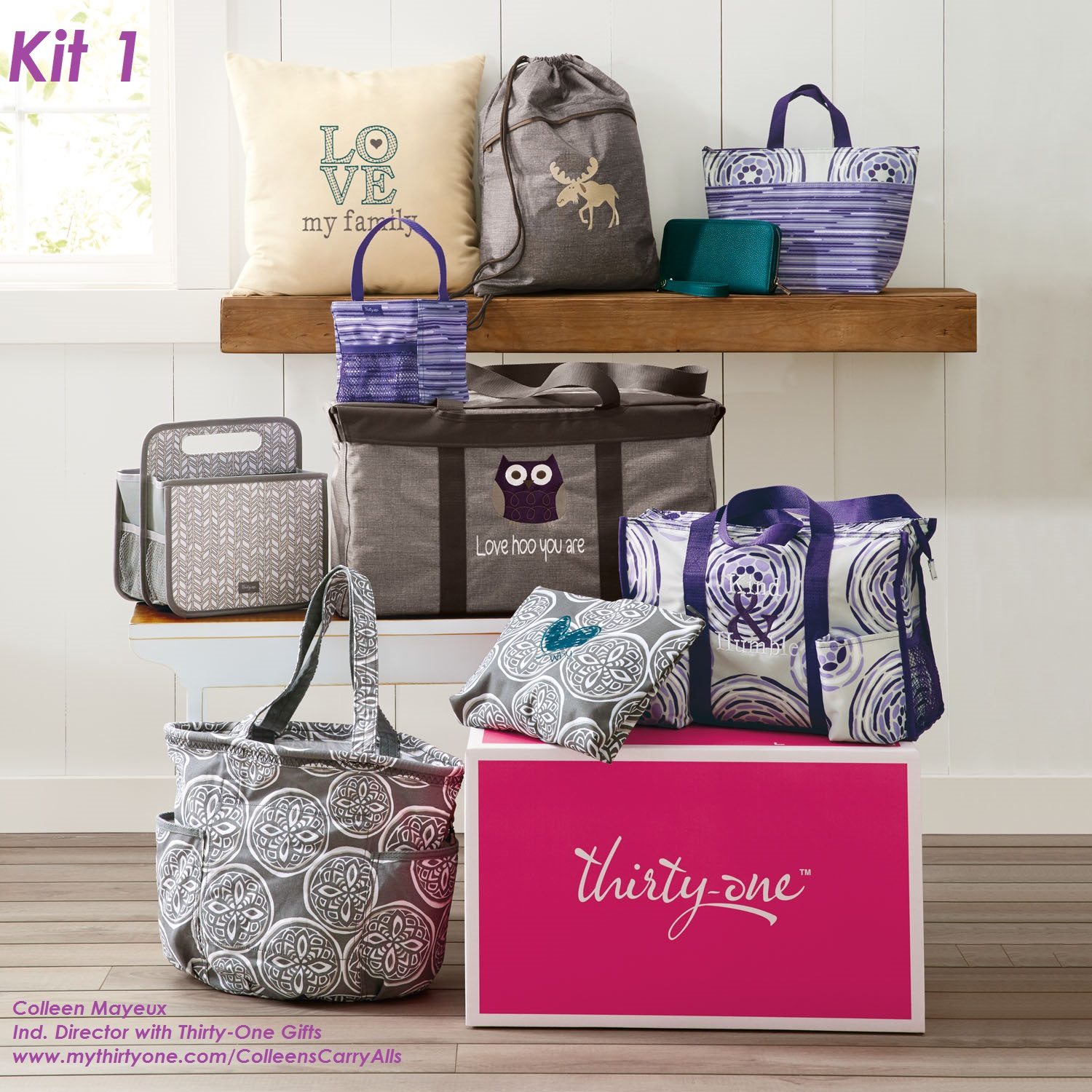 Join Thirty-One Gifts – Colleen Mayeux, Ind. Director with Thirty-One Gifts